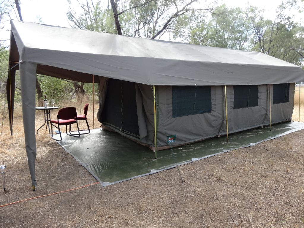 Safari Style Tent Camping